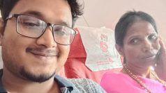 भीख मांगने वाली महिला से इंटरनेट स्टार बनने की कहानीः हिमेश से पहले ये युवा है रानू मंडल के लिए फरिश्ता