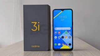 Realme 3i set to go on sale today at 12PM: Price in India, offers, availability, specifications, features