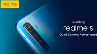 Realme 5, Realme 5 Pro with quad-cameras launched: Price in India, specifications and features