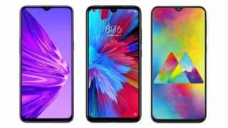 Realme 5 vs Xiaomi Redmi Note 7S vs Samsung Galaxy M20: Price in India, features compared