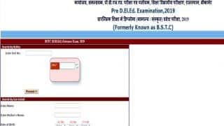 Rajasthan BSTC Result 2019: राजस्थान बीएसटीसी एलॉटमेंट रिजल्ट जारी, ऐसे करें चेक