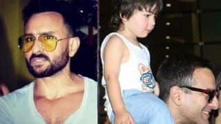 Saif Ali Khan Wants Paparazzi to Leave His Son Taimur Ali Khan Alone – Watch Angry Saif's Video