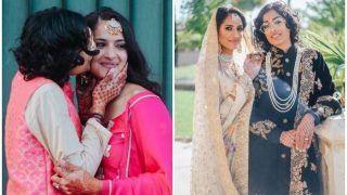 भारत-पाकिस्तान की इन लेस्बियन लड़कियों ने धूमधाम से रचाई शादी, सोशल मीडिया पर छाईं ये फोटोज़