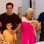 Salman Khan's Rakhi Pictures: Bhai Celebrates Raksha Bandhan With Bina Kak in Jaipur Where he Shoots For Dabangg 3