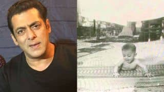 Salman Khan Shares a Never-Seen-Before Childhood Picture to Thank Fans For 31 Years in Bollywood