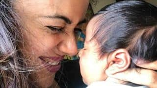 Sameera Reddy Shares The Most Adorable Picture With Her Newborn Nyra Varde