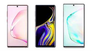 Samung Galaxy Note 10 vs Galaxy Note 10+ vs Galaxy Note 9: Price ,स्पेसिफिकेशंस के मामले में तीनों में क्या है अंतर