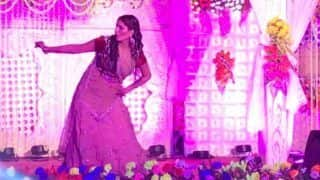 Haryanvi Sizzler Sapna Choudhary Performs at a Wedding in Patna, Dances on Teri Aakhya Ka Yo Kajal