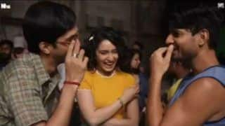 Shraddha Kapoor Gives Sneak-Peek Into Behind The Scenes of Chhichhore Ahead of Trailer Release on Sunday!