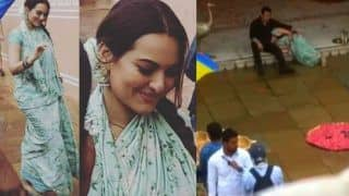 Videos And Pictures From The Sets of Salman Khan And Sonakshi Sinha's Dabangg 3 in Jaipur