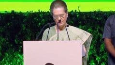 Sonia Hits Out at Centre, Says 'Rajiv Gandhi Never Used Power to Endanger Democracy'