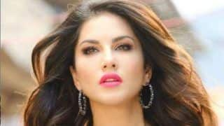 Sunny Leone Oozes Oomph And Sensuality at The Launch of Her Makeup Line in Abu Dhabi