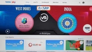 India vs West Indies ICC T20: How Tata Sky subscribers can watch uninterrupted cricket matches even in heavy rains