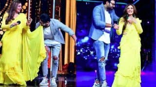 Raveena Tandon And Prabhas Recreate Tip Tip Barsa Paani in a Sexy Yellow Saree, Watch Video