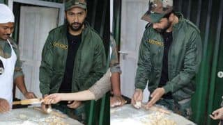 Vicky Kaushal Made The First Ever Roti For Indian Army, Netizens Ask For 'Gol Roti Challenge'