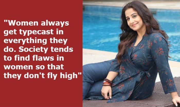 Vidya Balan: Society Finds Flaws in Women, People Said I Lost My