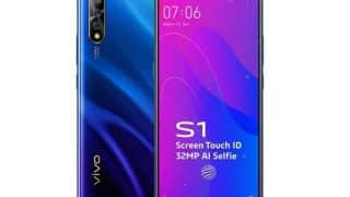 Vivo S1 pre-order opens up in offline stores; launch offers and pricing details