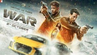 Hrithik Roshan Shares Another Poster of 'War' Featuring Tiger Shroff And Vaani Kapoor