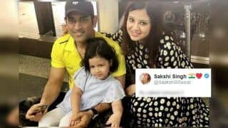 MS Dhoni's Wife Sakshi Quashes Retirement Rumours Announcement of former Indian captain as Fake News Goes Viral | SEE POST