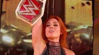WWE Fines Superstar Becky Lynch For Striking Referee