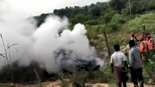 Andhra Pradesh: 3 Children Among 5 Burnt Alive as Speeding Car Overturns, Explodes