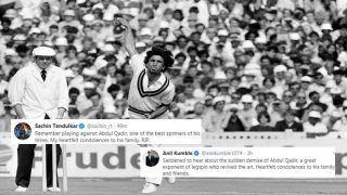Sachin Tendulkar to Anil Kumble, How Indian Cricketers Hailed Former Pakistan Legspinner Abdul Qadir | SEE POSTS