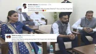Anushka Sharma Unnecessarily Trolled For Attending DDCA's Ceremony to Name Stand After Virat Kohli Along With Ravi Shastri And Team India | SEE POSTS