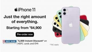 Apple iPhone 11 series up for pre-order in India, available with up to Rs 7,000 discount
