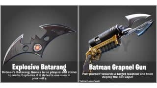 Fortnite leak reveals that we might be getting a Batman crossover soon