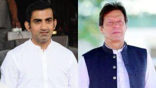 गौतम गंभीर ने पाकिस्तान प्रधानमंत्री इमरान खान पर ली चुटकी