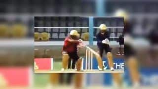 Brian Lara Makes T20 Comeback During The Selector Fan Cup Match Between Bravo XI-Pollard XI, Plays Trademark Late Cut | WATCH VIDEO
