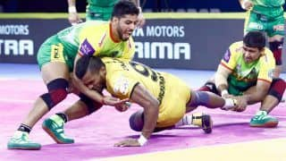 Dream11 Team PAT vs HYD Pro Kabaddi League 2019 - Kabaddi Prediction Tips For Today's PKL Match 98 Telugu Titans vs Patna Pirates at Shree Shiv Chhatrapati Wrestling Hall, Pune