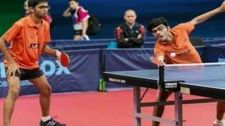 Indian Boys Defeat South Korean Boys to Enter Final of 22nd Asian Junior and Cadet Table Tennis Championships