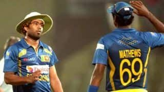 10 Sri Lanka Players, Including Lasith Malinga, Dimuth Karunaratne, Angelo Mathews, Pull Themselves Out of Series in Pakistan Stating Security Reasons