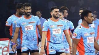 Dream11 Team UP vs BEN Pro Kabaddi League 2019 - Kabaddi Prediction Tips For Today's PKL Match 69 UP Yoddha vs Bengal Warriors at Sree Kantereeva Stadium, Bengaluru