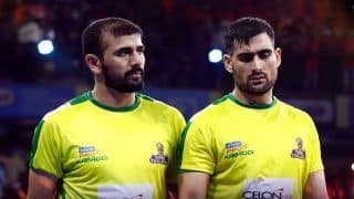 Dream11 Team TEL vs TAM Pro Kabaddi League 2019 - Kabaddi Prediction Tips For Today's PKL Match 72 Telugu Titans vs Tamil Thalaivas at Sree Kantereeva Stadium, Bengaluru