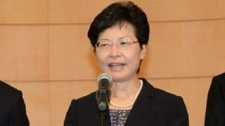 Hong Kong Leader Carrie Lam Will Withdraw Controversial Extradition Bill