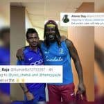 Happy Birthday Chris Gayle: Yuzvendra Chahal Takes a Cheeky Jibe at Universe Boss, Twitter is Loving it | SEE POSTS