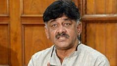 Congress Leader DK Shivakumar Complains of Chest Pain, Admitted to Hospital