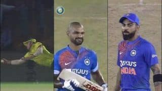 India vs South Africa: Virat Kohli's EPIC Reaction After David Miller's One-Handed Catch During 2nd T20I at Mohali to Dismiss Shikhar Dhawan Cannot be Missed | WATCH VIDEO