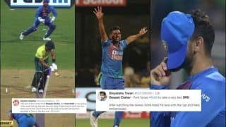 'Most Bizarre DRS': Chahar TROLLED For Forcing Kohli to Take Review | POSTS