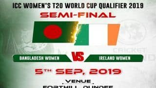 Dream11 Team Bangladesh Women vs Ireland Women ICC Women's T20 World Cup Qualifier 2019 - Cricket Prediction Tips For Today's-T20 1st Semifinal BD-W vs IR-W at Forthill, Dundee