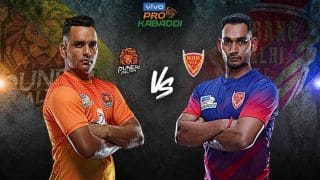 Dream11 Team PUN vs DEL Pro Kabaddi League 2019 - Kabaddi Prediction Tips For Today's PKL Match 113 Puneri Paltan vs Dabang Delhi K.C. at Tau Devilal Sports Complex, Panchkula