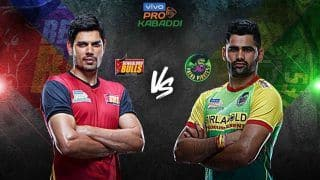Dream11 Team BLR vs PAT Pro Kabaddi League 2019 - Kabaddi Prediction Tips For Today's PKL Match 74 Bengaluru Bulls vs Patna Pirates at Sree Kanteerava Stadium, Bengaluru