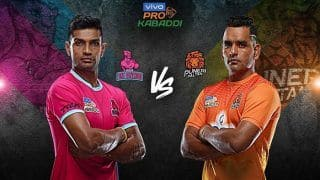 Dream11 Team JAI vs PUN Pro Kabaddi League 2019 - Kabaddi Prediction Tips For Today's PKL Match 107 Jaipur Pink Panthers vs Puneri Paltan at Sawai Mansingh Stadium, Jaipur