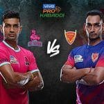 Dream11 Team JAI vs DEL Pro Kabaddi League 2019 - Kabaddi Prediction Tips For Today's PKL Match 73 Jaipur Pink Panthers vs Dabang Delhi K.C at Sree Kanteerava Stadium, Bengaluru