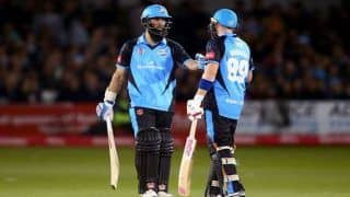 Dream11 Team Nottinghamshire vs Worcestershire Vitality T20 Blast 2019 - Cricket Prediction Tips For Today's 1st Semifinal Match NOT vs WOR at Edgbaston, Birmingham