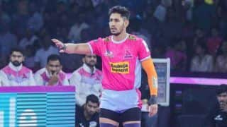 Dream11 Team JAI vs HYD Pro Kabaddi League 2019 - Kabaddi Prediction Tips For Today's PKL Match 110 Jaipur Pink Panthers vs Telugu Titans at Sawai Mansingh Stadium, Jaipur