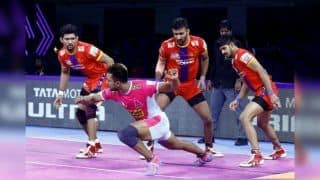 Dream11 Team JAI vs UP Pro Kabaddi League 2019 - Kabaddi Prediction Tips For Today's PKL Match 93 Jaipur Pink Panthers vs UP Yoddha at Shree Shiv Chhatrapati Wrestling Hall