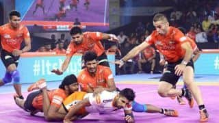 Dream11 Team MUM vs UP Pro Kabaddi League 2019 - Kabaddi Prediction Tips For Today's PKL Match 95 U Mumba vs UP Yoddhas at Shree Shiv Chhatrapati Wrestling Hall
